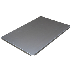 LID 40x60 1,4mm Aluminium 395x595mm 4 sides 15mm/90º to art 256-31571000, 256-31581000, 256-31591000