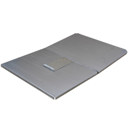 LID 40x60 Stainless steel 1/2 opening 4 sides 10mm/90 Incl stopp to art 256-31571000, 256-31581000, 256-31591000