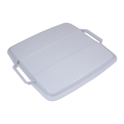 LID 90L Grey Plastic to bin 90L rectangular