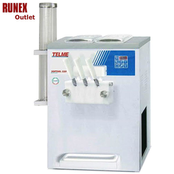 SOFT ICE CREAM MACHINE  6Lx2 Telme Softgel 320 1~230VAC 50Hz 2,4kW (13A) 2 flavours Gravitation fed Capacity 15kg/hr 200pcs/hr