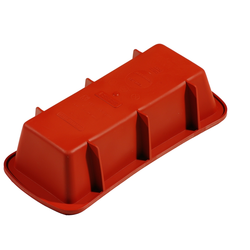 SILICONE BAKING MOULD PAN SQUARE 240x105x65mm 1,38L {Conforms with: EU 1935/2004, EU 2023/2006}
