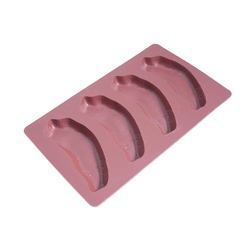 SILICONE MOULD SILMAÉ GN1/3 170x280mm ESCALOPE  70ml 4x 140x62x17mm (Made in France) Silicone mould. Temperature -60..+260°C.