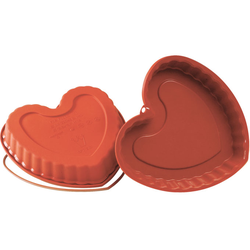 SILICONE MOULD HEART 220x218x30mm