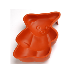 SILICONE MOULD BEAR 280x180x55mm 1,96L