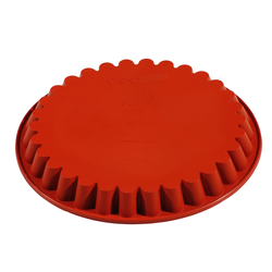SILICONE MOULD ROUND FLUTED ø280x30mm 1,60L