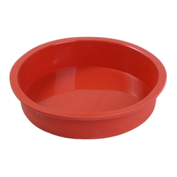 SILICONE BAKING MOULD PAN ROUND ø180x40mm