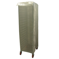 RACK COVER GN1/1 1550mm Overlapp-type Transparent reinforced PE-plastic Door with Velcro locking External 405x550x1550mm (WxLxH)