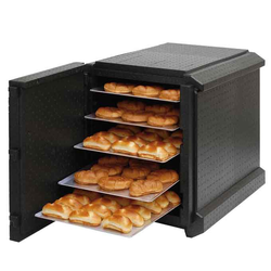 THERMO CABINET 40x60 for 10 TRAY PP-plastic Internal for 40x60 trays lengthways