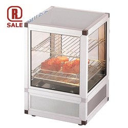 HOT FOOD DISPLAY 1~230VAC 50Hz 0,69kW 2 shelves Water tub
