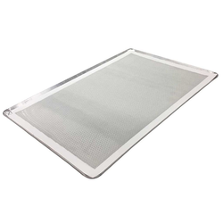 SILICONE MAT BAKING MAT PERFORATED GN1/1 (315x520mm) Temperature -40..+280°C {Conforms with: EU 1935/2004, EU 2023/2006}