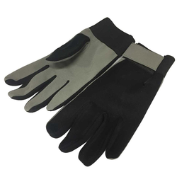 GLOVES WORK GLOVES Synthetic leather Top of fabric With lining Velcro locking