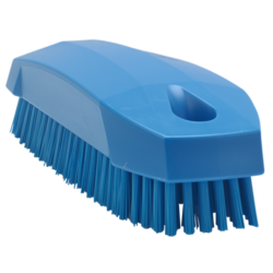 BRUSH 130x50mm Stiff BLUE Vikan Plastic For cleaning proofing basket banneton {Conforms with: EU 1935/2004, EU 2023/2006, EU 10/2011}
