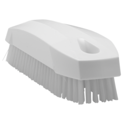 BRUSH 130x50mm Stiff WHITE Vikan Plastic For cleaning proofing basket banneton {Conforms with: EU 1935/2004, EU 2023/2006, EU 10/2011}