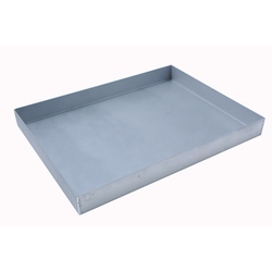 BAKING TRAY SHEET PAN GN1/1 325x530x40mm Aluminium 1,4mm Nonstick Silicone resin coated RilonHard Grey