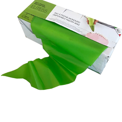 PIPING BAG 530mm Disposable Plastic Antislip Double welds GREEN Roll with 100 bags