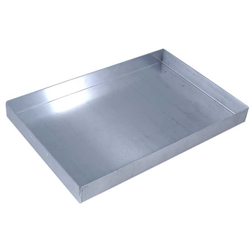BAKING TRAY 45x30 450x300x40mm Aluminium 1,4mm