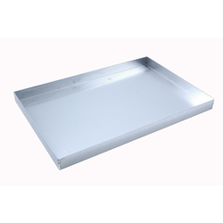 BAKING TRAY 45x60 450x600x40mm Aluminium 1,4mm