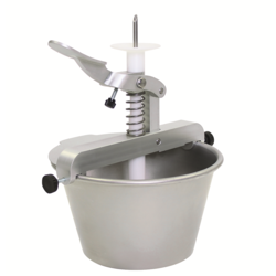 BERLINER FILLER CREAM INJECTOR 5L 0-15g 260x380x350mm Stainless steel {Conforms with: EU 1935/2004, EU 2023/2006}