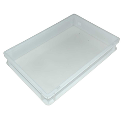 BIN  18L PIZZA 40x60 White 365x565x85mm