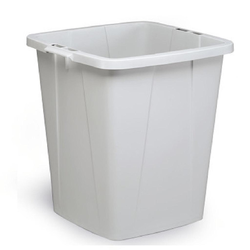 BIN  90L RECTANGULAR Grey Plastic