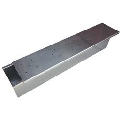 BAKING TIN PAN MOULD  5,6L WITH SLIDING LID 580x100x100mm Aluminium Internal 580/575x100/95x100mm Welded {Conforms with: EU 1935/2004, EU 2023/2006, EN AW-3003}
