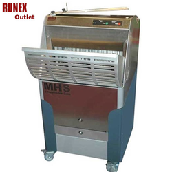 BREAD SLICER MHS GM450 10mm SELF SERVICE 1~230VAC 50Hz 1,2kW Floor model Max loaf length 450mm ***DEMO***