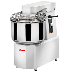 SPIRAL MIXER  25kg 30L GAM TSV30 2 speed 1 timer 3~400VAC 50Hz 1,1kW Liftable head Removable bowl
