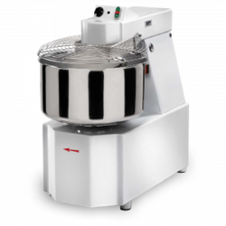 SPIRAL MIXER  64kg 76L GAM IKARO TSVX60 2 speed 1 timer 3~400VAC 50Hz 2,6/3,3kW Liftable head Removable bowl Incl. Castors