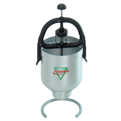 DISPENSER 3L for waffle mix Aluminium