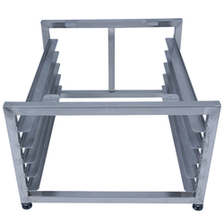 RACK 45x60 5 gejder Stainless steel External 510x600x340mm (WxLxH)