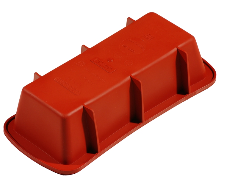 SILICONE MOULD SQUARE 240x105x65mm 1,38L