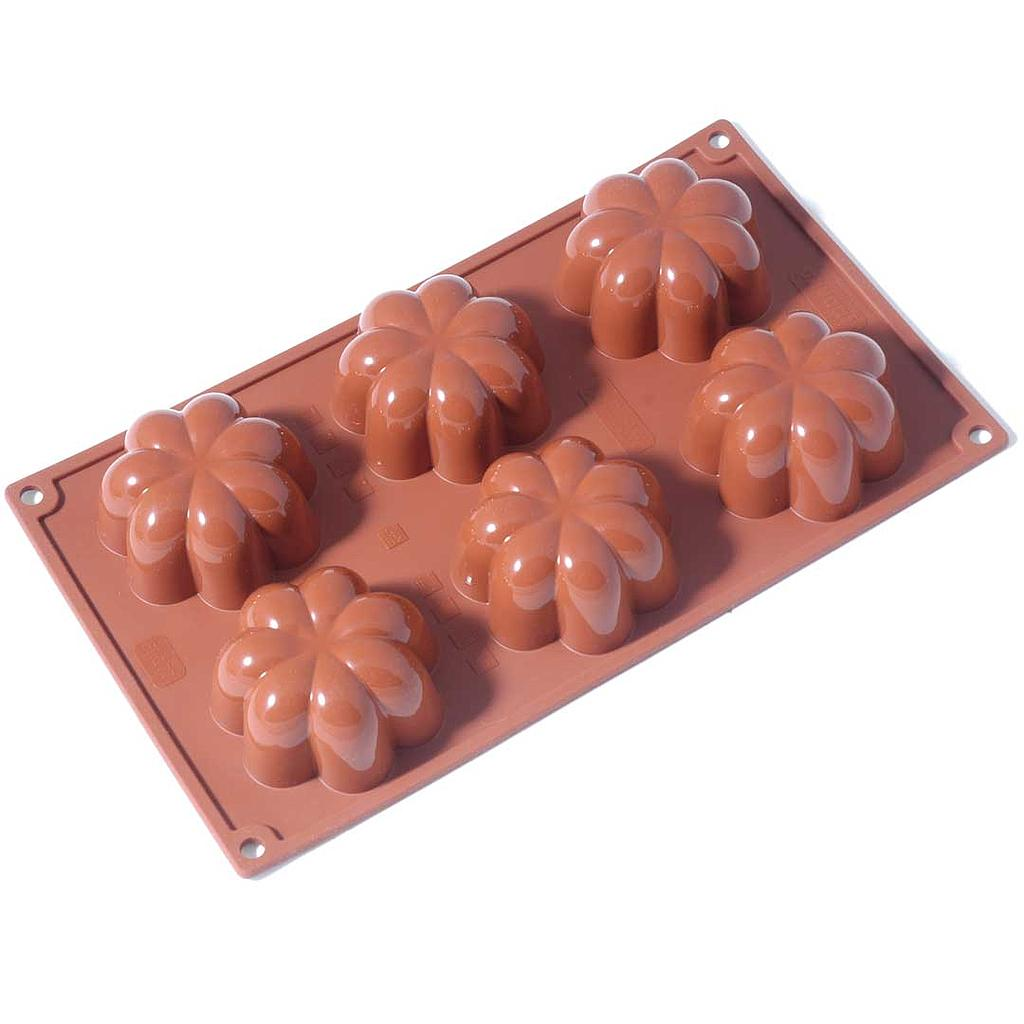 SILICONE MOULD GN1/3 CHARLOTTE 110ml (6x ø78x36mm)