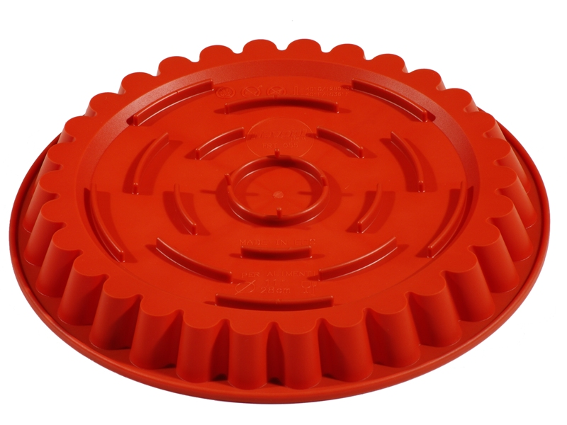 SILICONE MOULD ROUND FLUTED ø260x30mm 1,35L