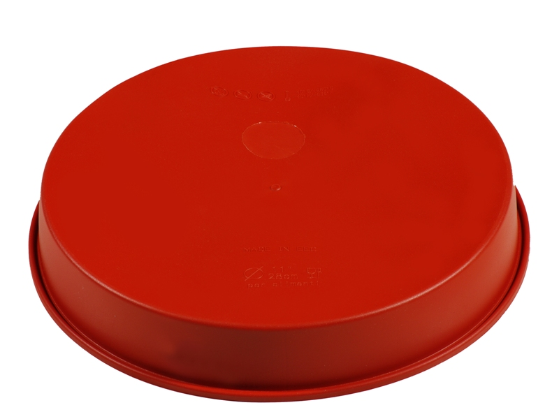 SILICONE MOULD ROUND ø200x40mm 1,15L