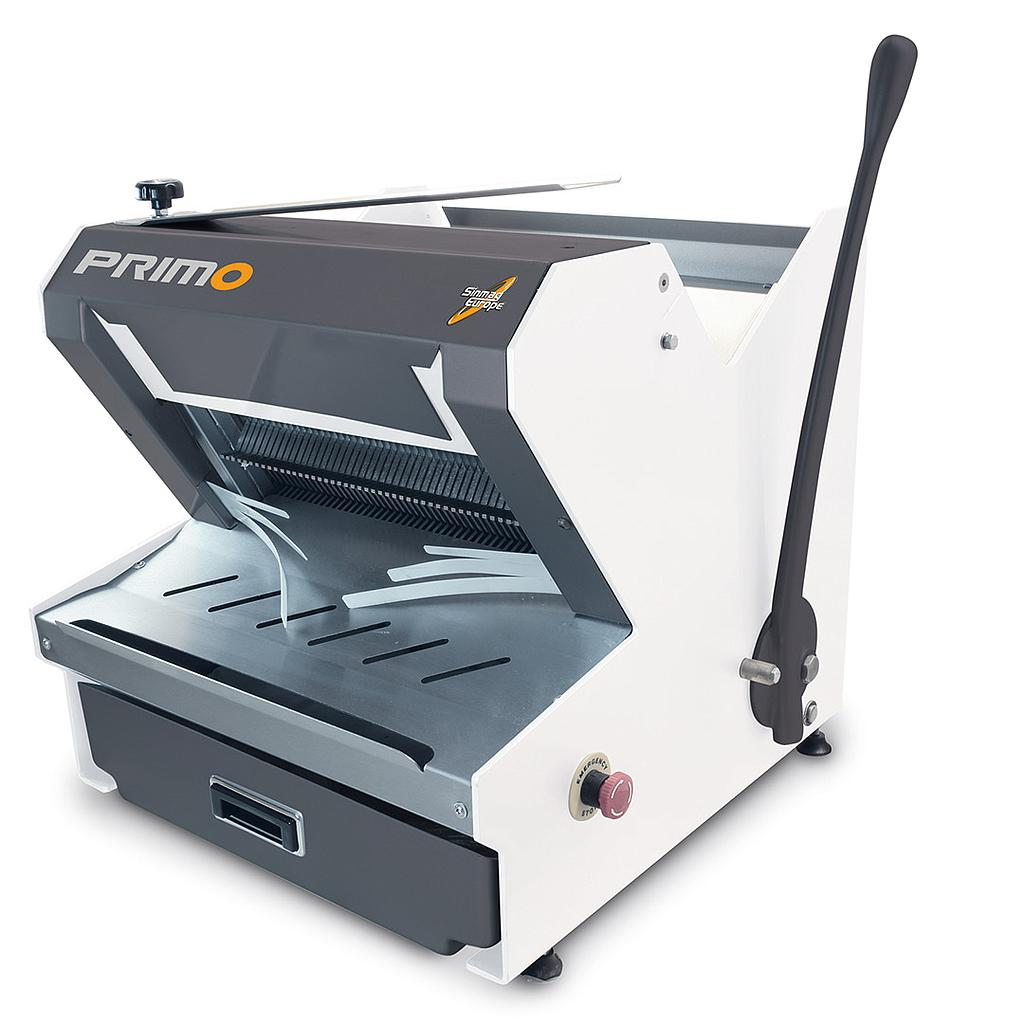 BREAD SLICER PRIMO 1~230VAC 50Hz 0,550kW Slice thickness 13mm Max loaf size 440x300x170mm