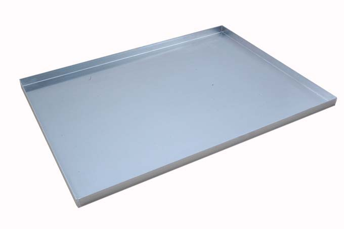 BAKING TRAY SHEET PAN 45x60 450x600x20mm Aluminium 1,4mm {Conforms with: EU 1935/2004, EU 2023/2006, EN AW-3003}