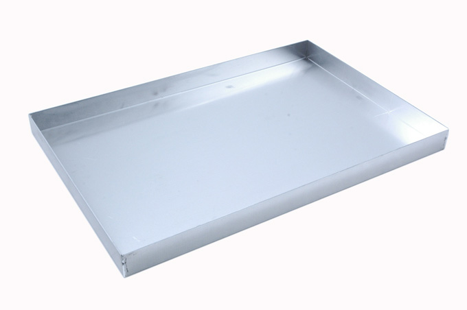 BAKING TRAY SHEET PAN 46x61 460x610x40mm Aluminium 1,4mm {Conforms with: EU 1935/2004, EU 2023/2006, EN AW-3003}