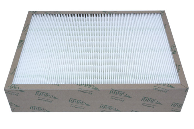 AIR CLEANER FILTER FINE Ecopleat ECO 3GPF 450x345x94mm Filter class F8 To RAC13